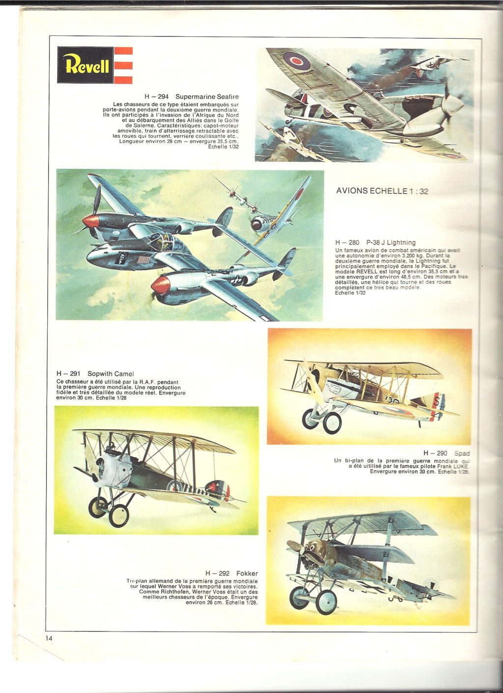 1970 - [REVELL 1970] Catalogue 1970 Revell35