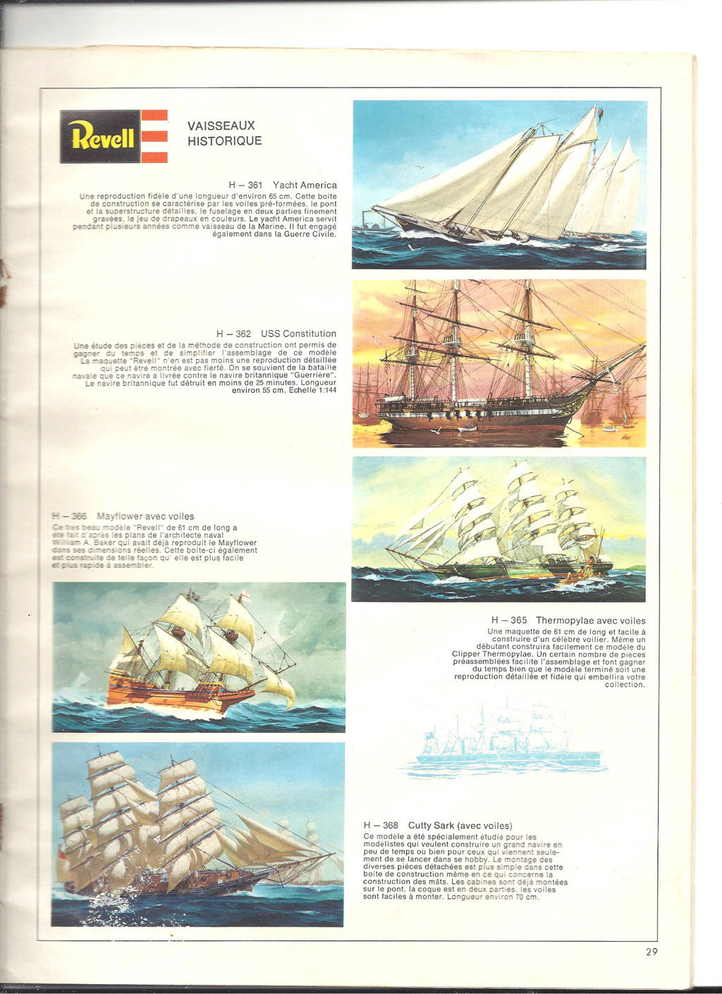 1970 - [REVELL 1970] Catalogue 1970 Revell51