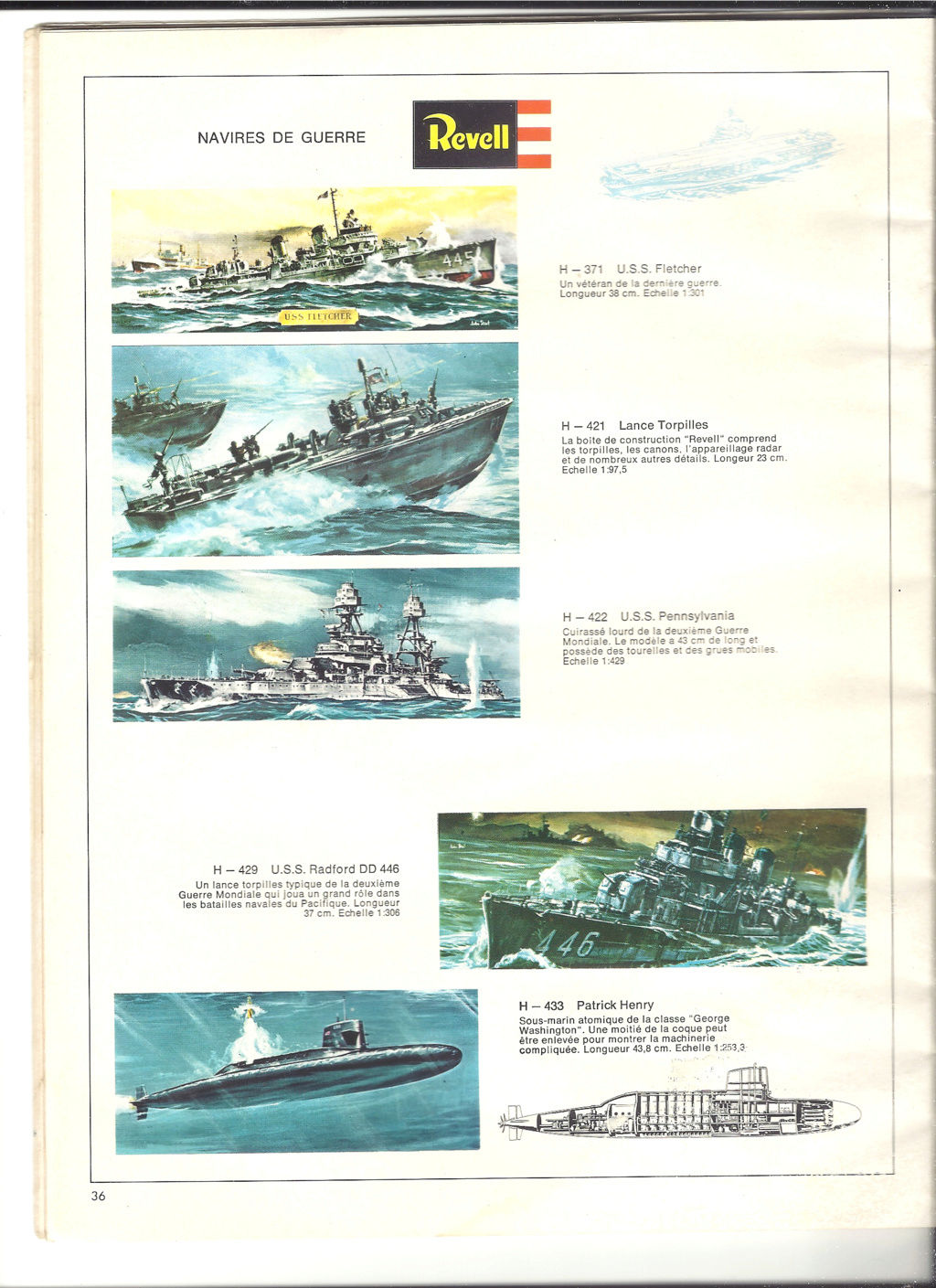 1970 - [REVELL 1970] Catalogue 1970 Revell58