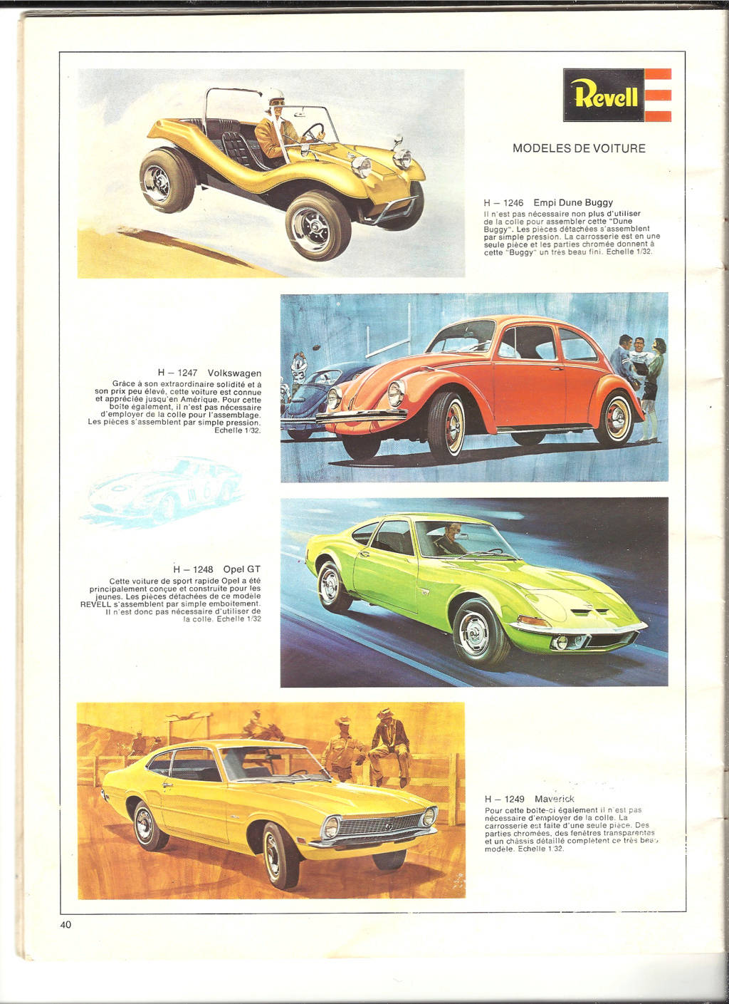 1970 - [REVELL 1970] Catalogue 1970 Revell61