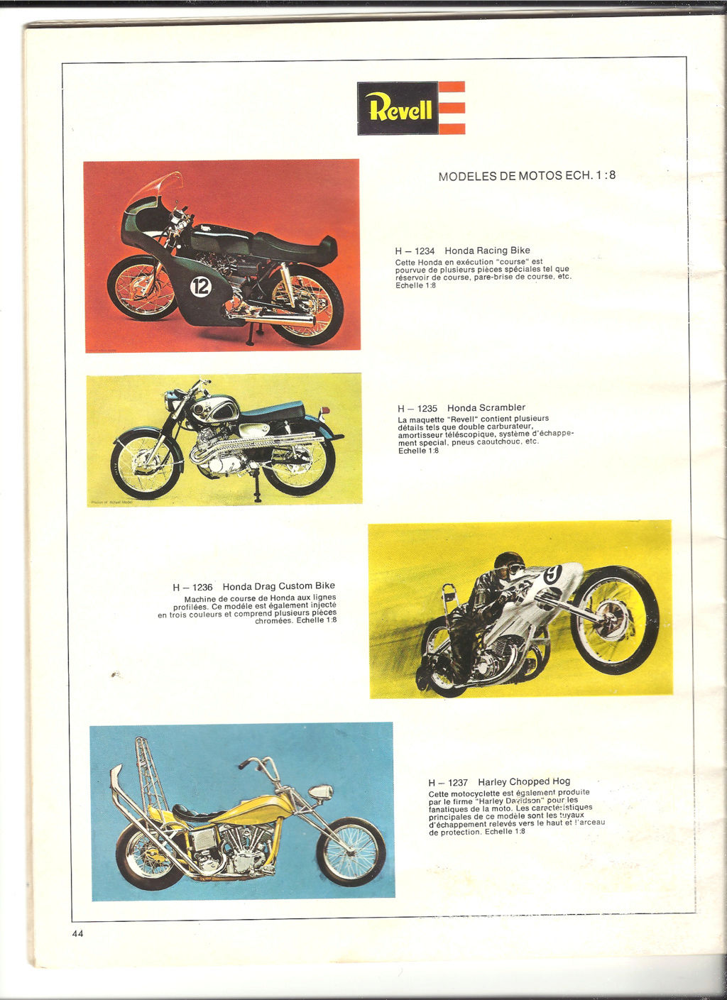 1970 - [REVELL 1970] Catalogue 1970 Revell66