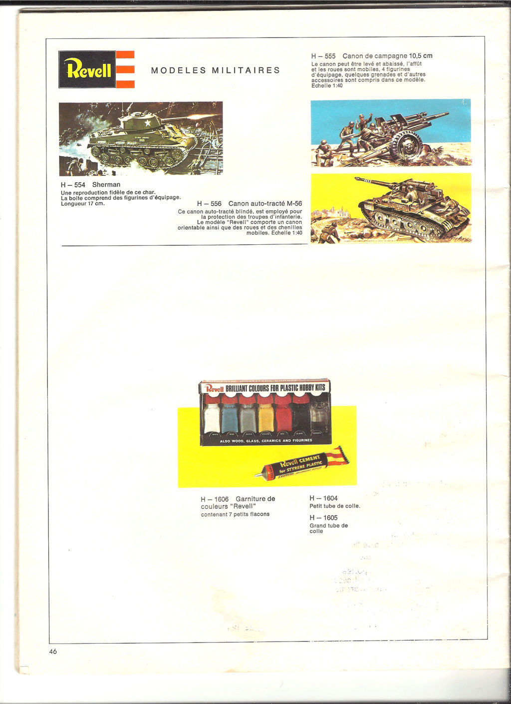1970 - [REVELL 1970] Catalogue 1970 Revell67