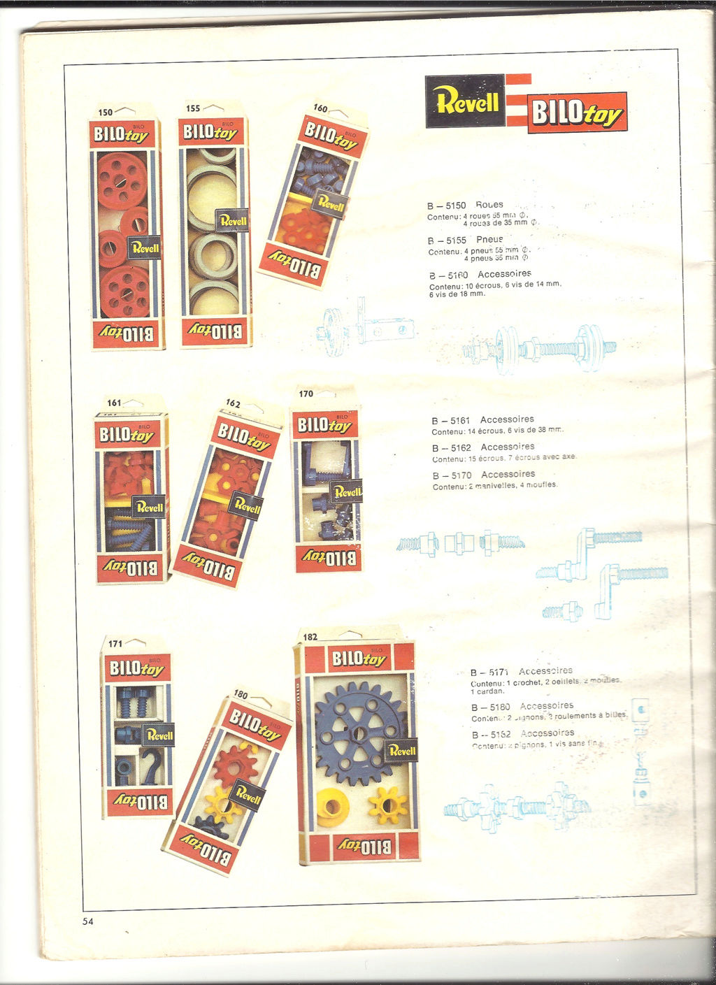 1970 - [REVELL 1970] Catalogue 1970 Revell80