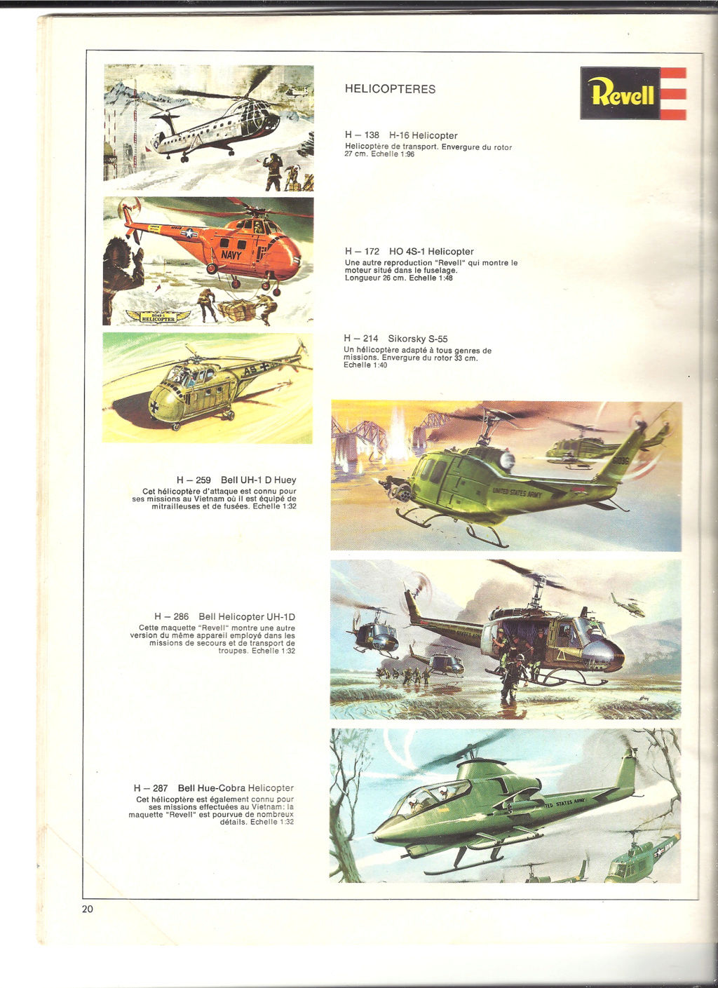 1970 - [REVELL 1970] Catalogue 1970 Revell81