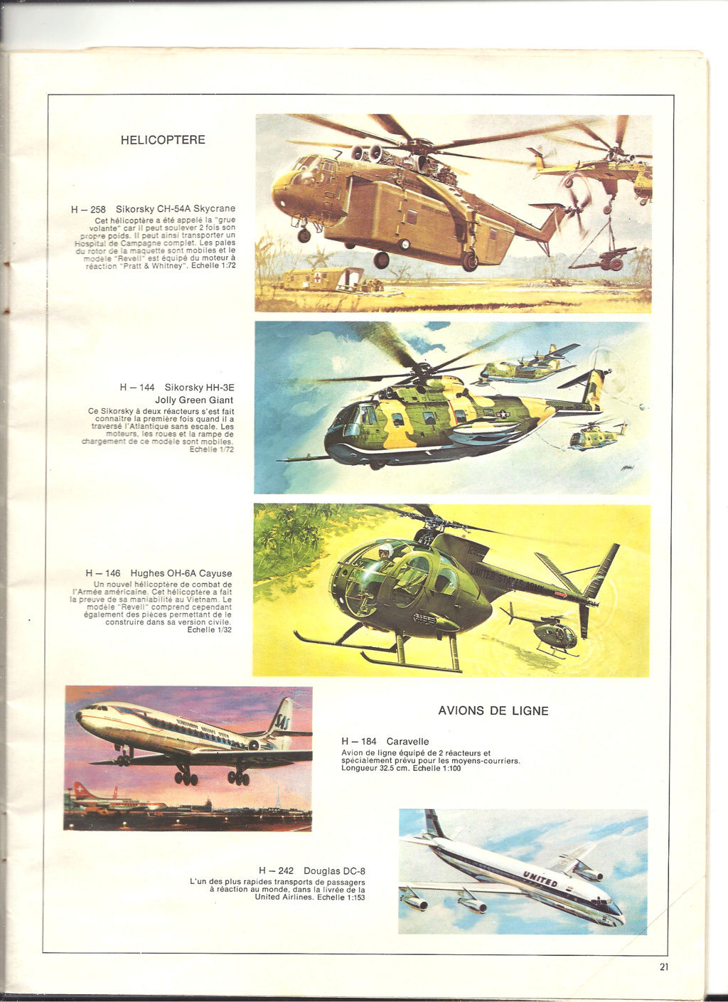1970 - [REVELL 1970] Catalogue 1970 Revell82