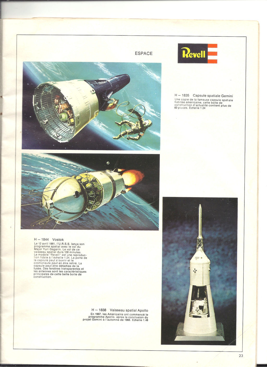 1970 - [REVELL 1970] Catalogue 1970 Revell83
