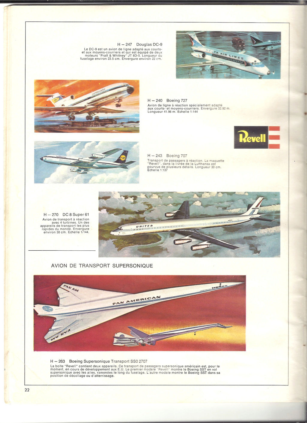 1970 - [REVELL 1970] Catalogue 1970 Revell84