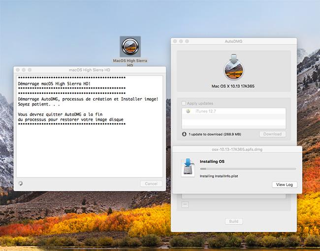 macOS High Sierra HD A10