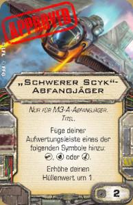 Boba Fett Crew & Titel Schwerer Scyk Schwer12