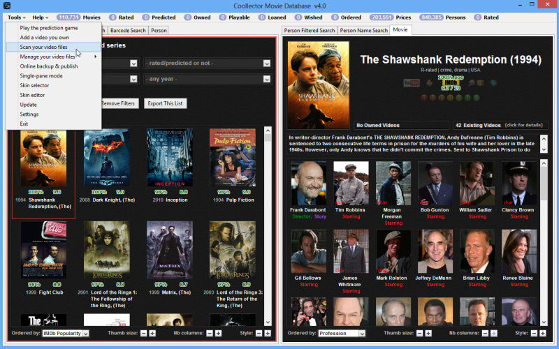 Coollector Movie Database 4.9.8 Screen10