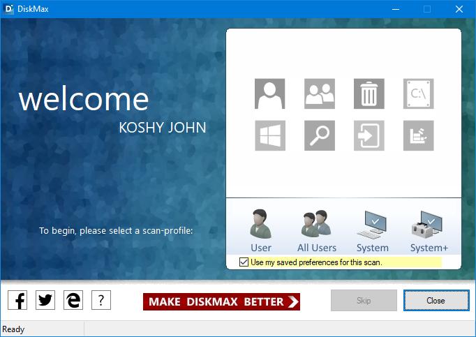 DiskMax 6.02 - Πρόγραμμα εκκαθάρισης δίσκου! Win_di10