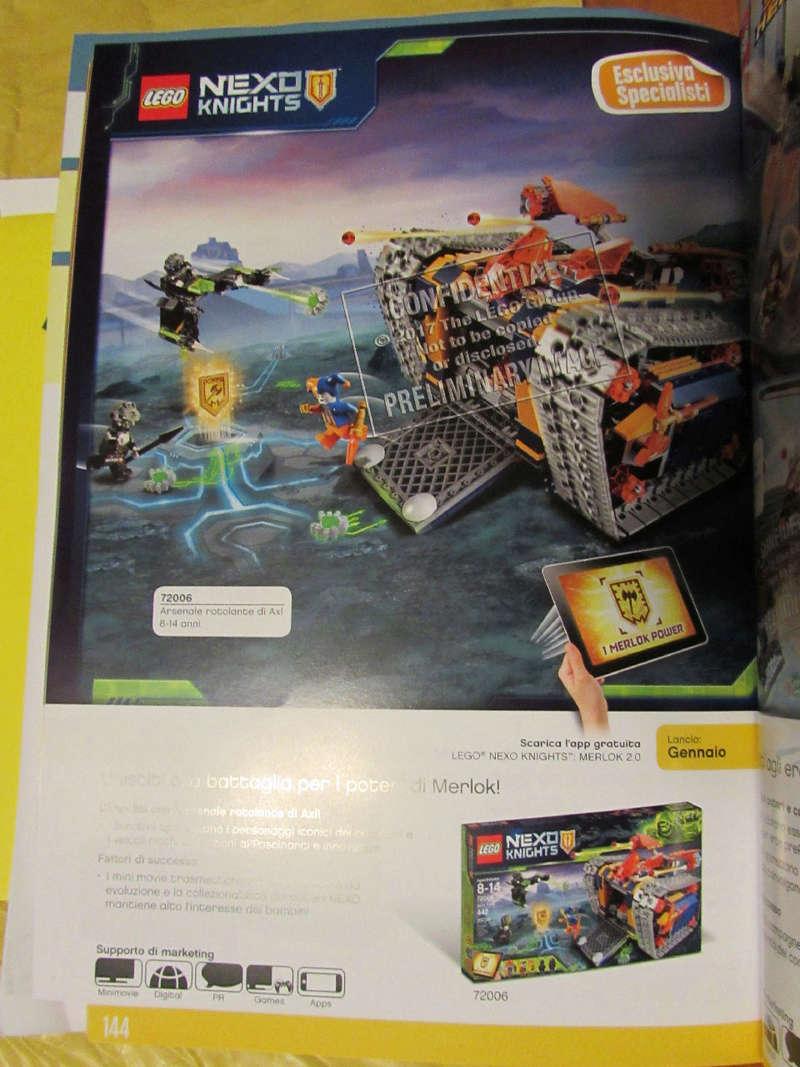 [LEGO] LEGO 2018: Les premiers visuels. Nexo2023