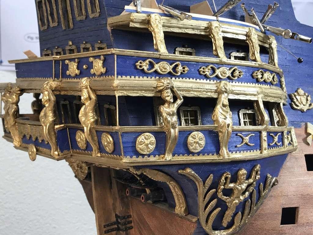 Le Soleil Royal im Maßstab 1:50 nach Plänen von Mantua gebaut von Peter Fischer - Seite 5 Img_0312