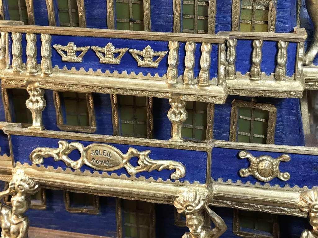 Le Soleil Royal im Maßstab 1:50 nach Plänen von Mantua gebaut von Peter Fischer - Seite 6 Img_0317