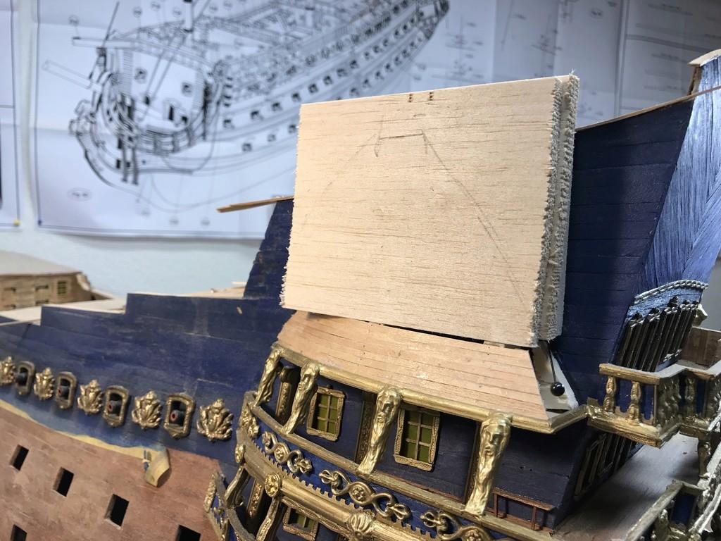 Le Soleil Royal im Maßstab 1:50 nach Plänen von Mantua gebaut von Peter Fischer - Seite 6 Img_0322