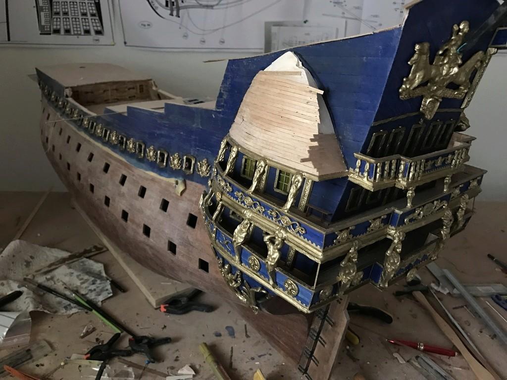 Le Soleil Royal im Maßstab 1:50 nach Plänen von Mantua gebaut von Peter Fischer - Seite 6 Img_0410