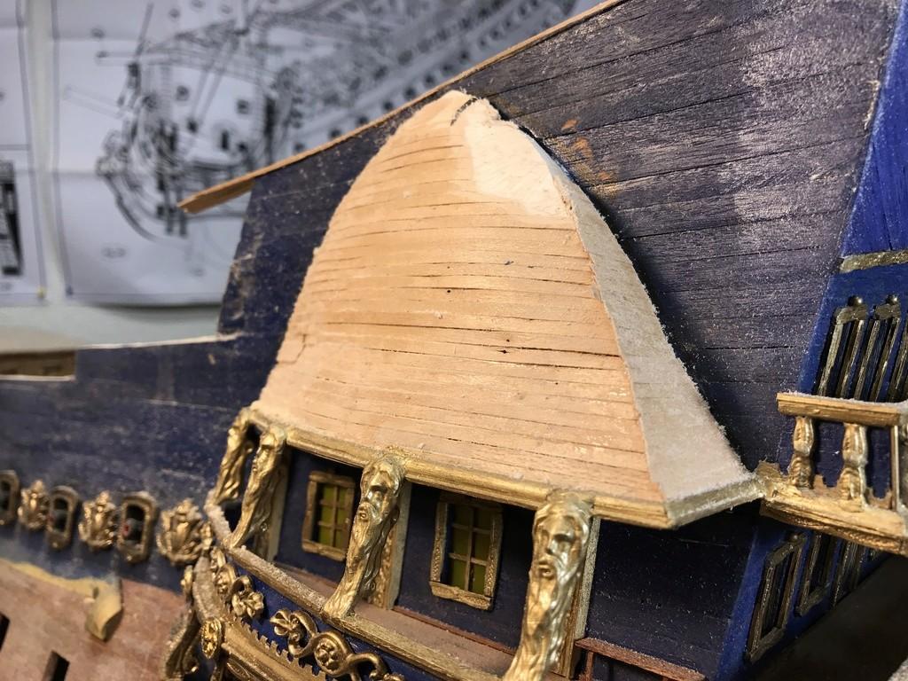 Le Soleil Royal im Maßstab 1:50 nach Plänen von Mantua gebaut von Peter Fischer - Seite 6 Img_0411