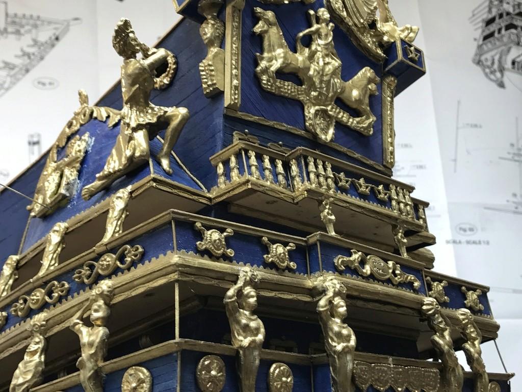 Le Soleil Royal im Maßstab 1:50 nach Plänen von Mantua gebaut von Peter Fischer - Seite 6 Img_0414