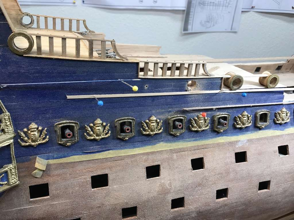 Le Soleil Royal im Maßstab 1:50 nach Plänen von Mantua gebaut von Peter Fischer - Seite 6 Img_0418