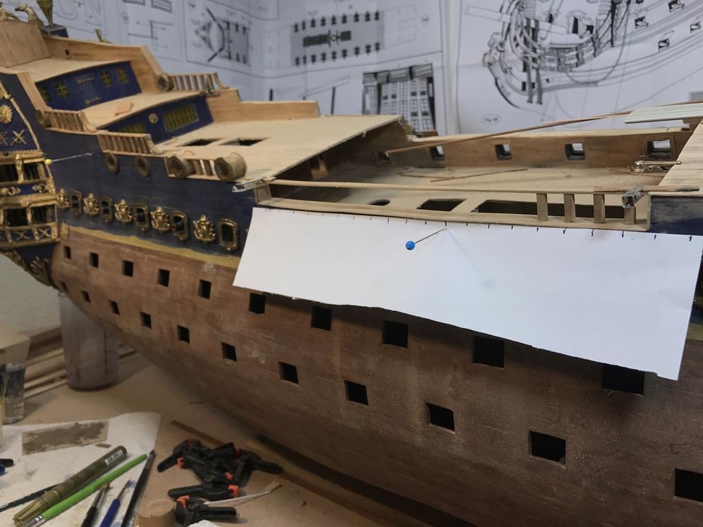 Le Soleil Royal im Maßstab 1:50 nach Plänen von Mantua gebaut von Peter Fischer - Seite 6 Img_0419