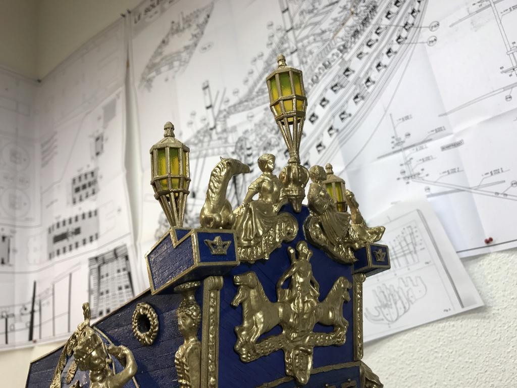 Le Soleil Royal im Maßstab 1:50 nach Plänen von Mantua gebaut von Peter Fischer - Seite 6 Img_0513