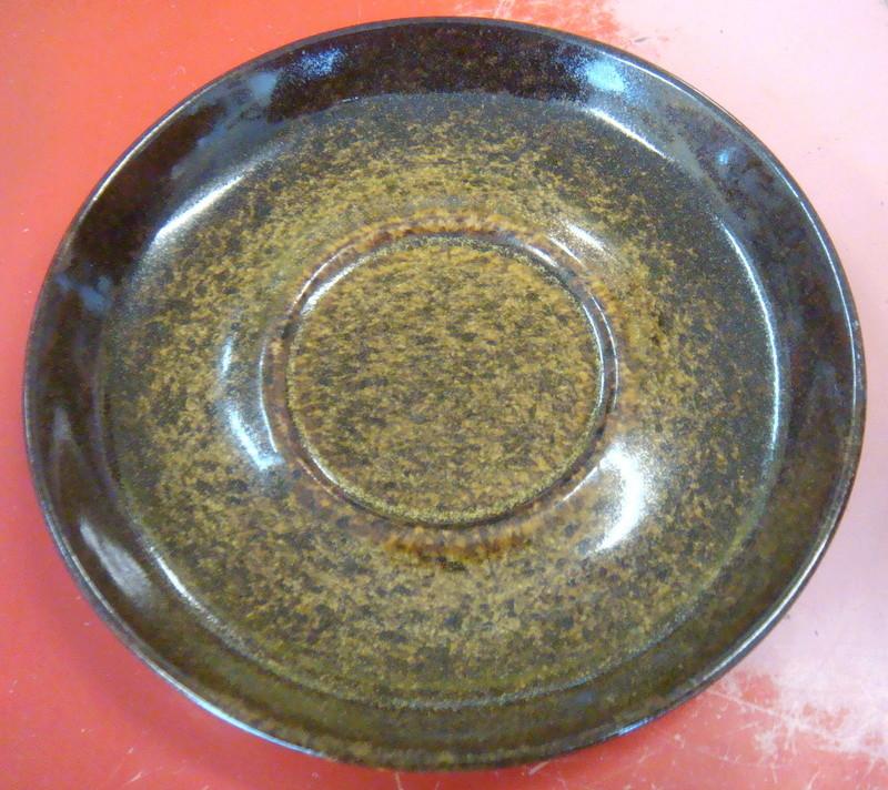 mapua - Unusual Mapua ware pate dish and saucer Dsc07312