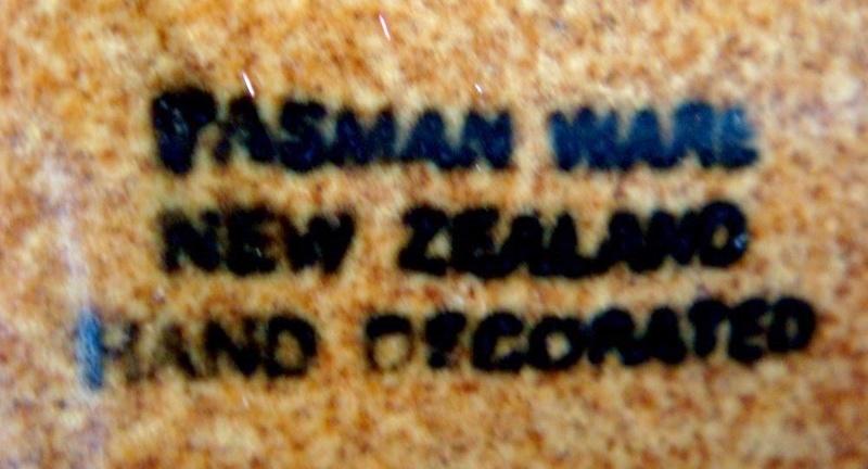Tasman Ware ashtray Tasman11