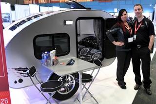 La mini-roulotte I-Goutte suscite beaucoup d'intérêt 14139010