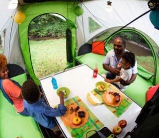Accueillons une nouvelle classe de VR , la tente caravane Interi11