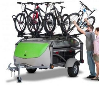 Accueillons une nouvelle classe de VR , la tente caravane Remorq10