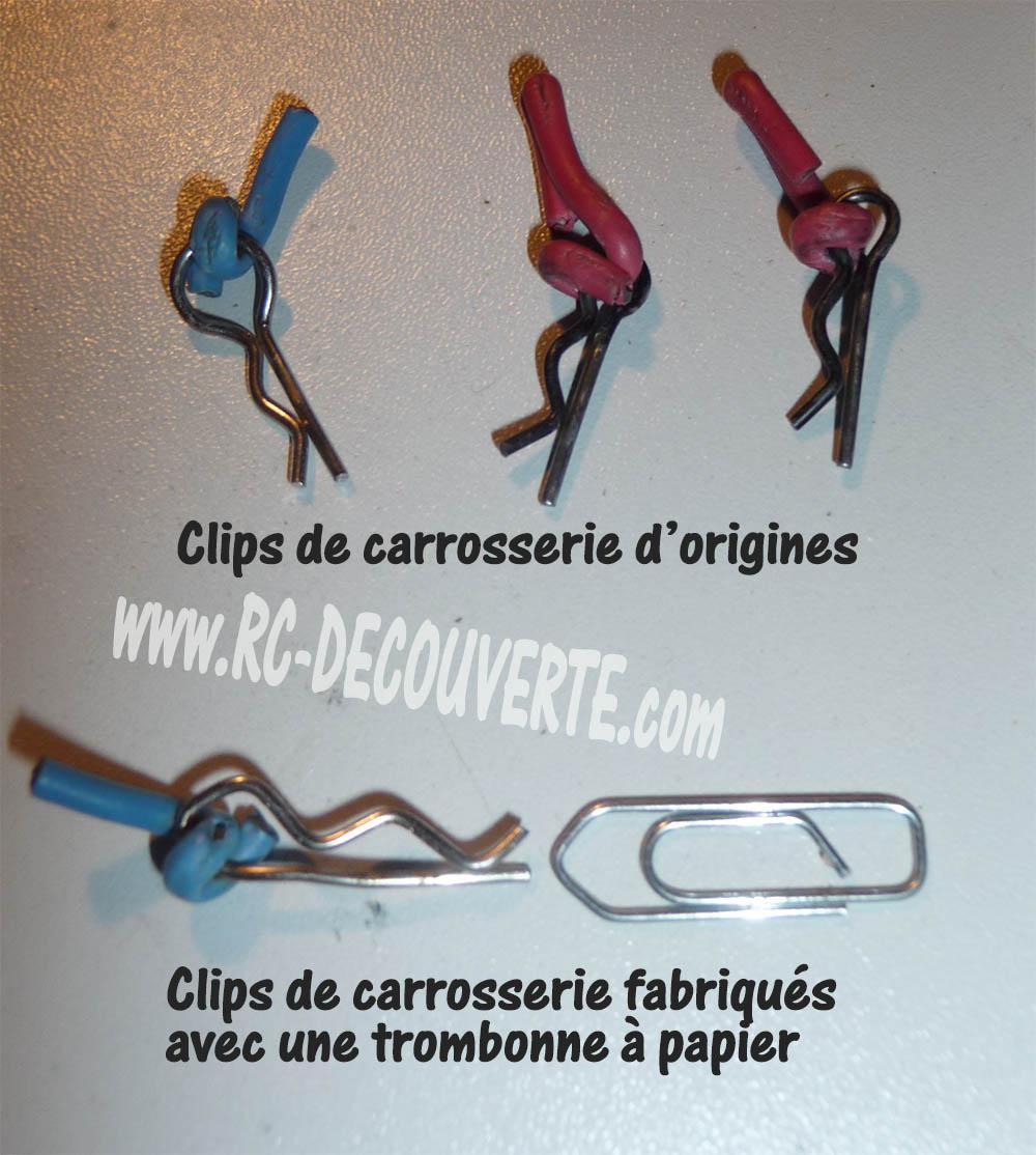 Fabrication de Clip de carrosserie avec un trombone à papier Clip-c10