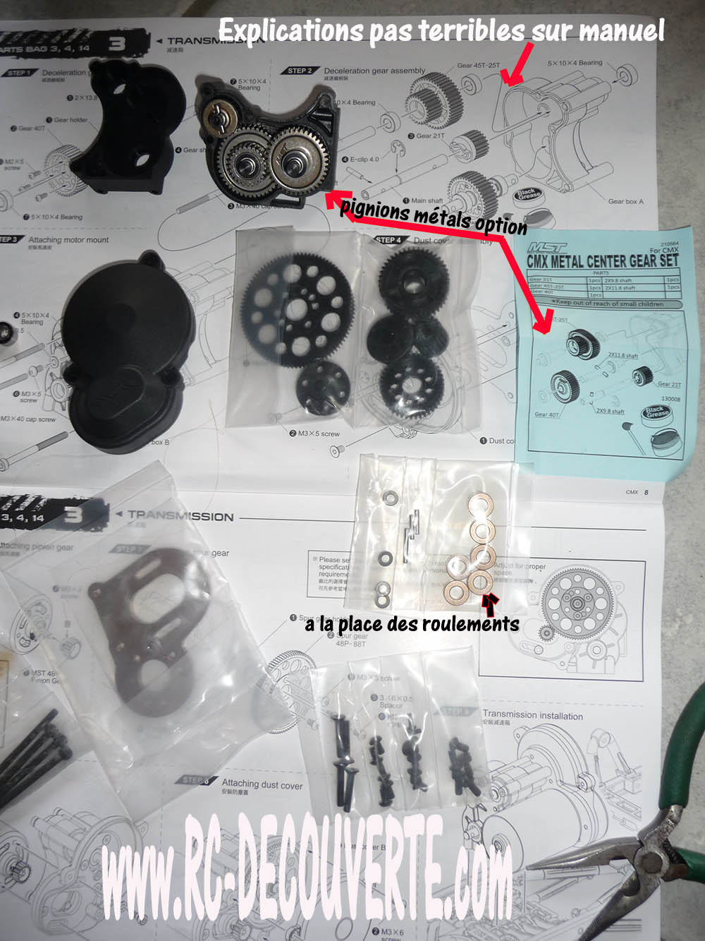 Montage MST CMX Kit : Jeep & Hummer - Page 2 Montag11