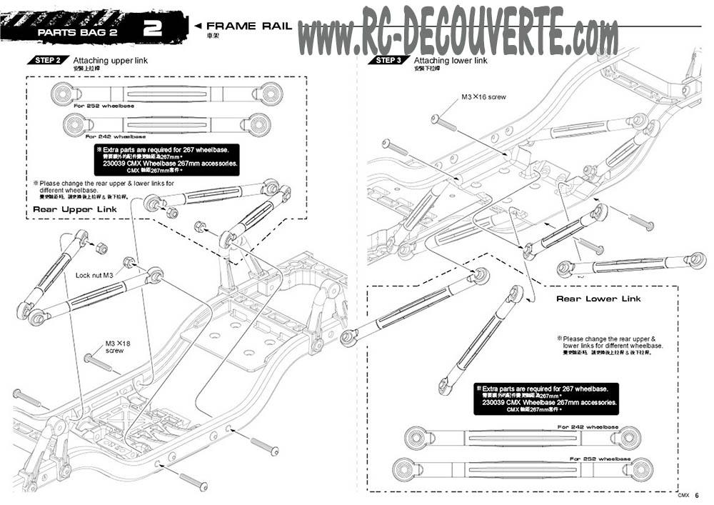 Montage MST CMX Kit : Jeep & Hummer - Page 2 Mst-cm13