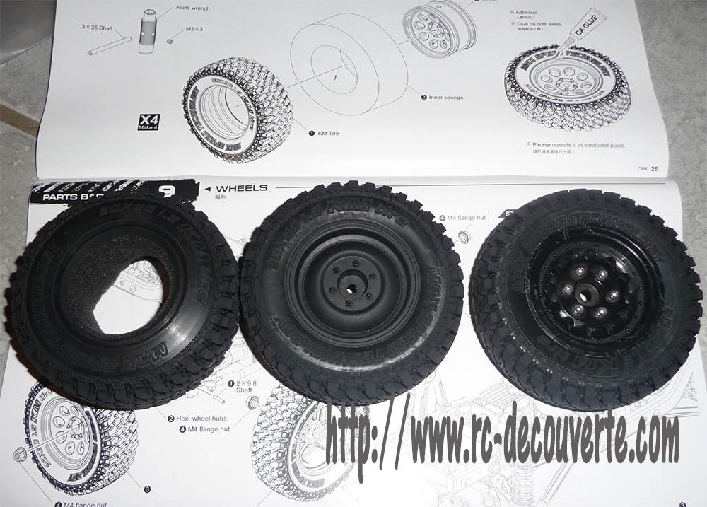 Montage MST CMX Kit : Jeep & Hummer - Page 3 Pneus210