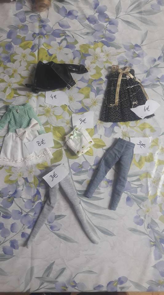 Plein de vêtement tailles Pullip 20427810