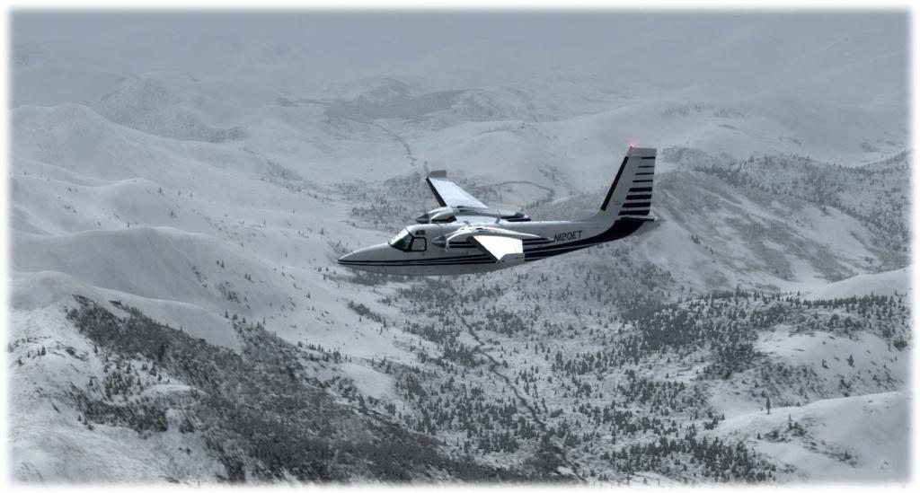 Cpt Rendu - Mission 1 PAUN-KGX FSX-France Alaska compagnie 2 210
