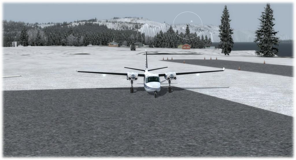 Cpt Rendu - Mission 1 PAUN-KGX FSX-France Alaska compagnie 2 310
