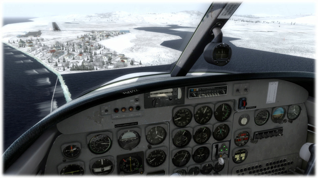 Cpt Rendu - Mission 1 PAUN-KGX FSX-France Alaska compagnie 2 510