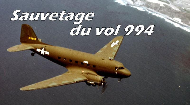 Mission de sauvetage du vol 994 99410