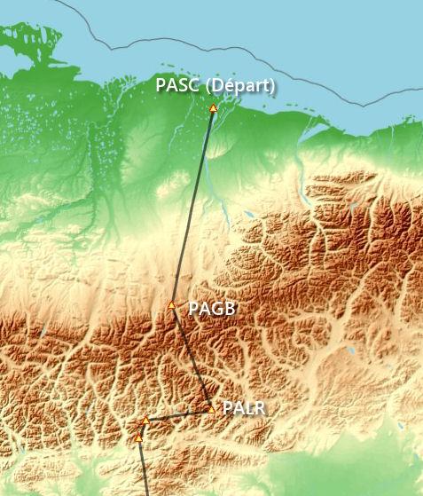 La Route Panaméricaine vue du ciel - Etape 1 (PASC - PAGB) Carte110