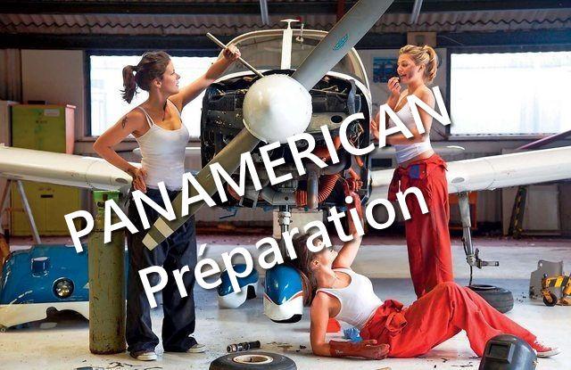 La Route Panaméricaine - Préparation des machines. Prepa10