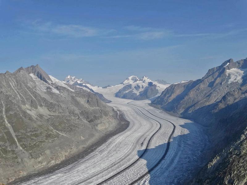 Glacier d'Aletsch en Suisse (vu depuis Fiesch) Dsc02311