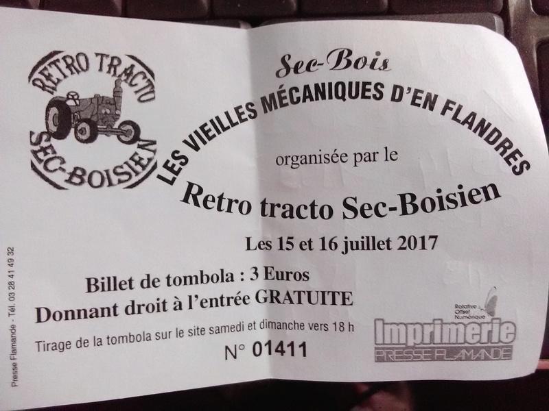 59 - SEC BOIS ....exposition Autos/motos/Camions/Tracteurs.... 24610