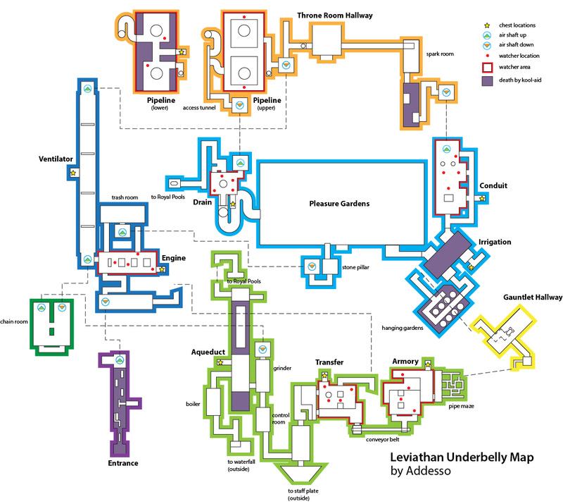 Cartes des souterrains du Raid Destin34