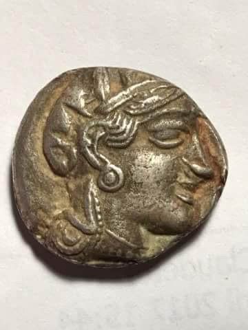 Identification tétradrachme Athènes Image13