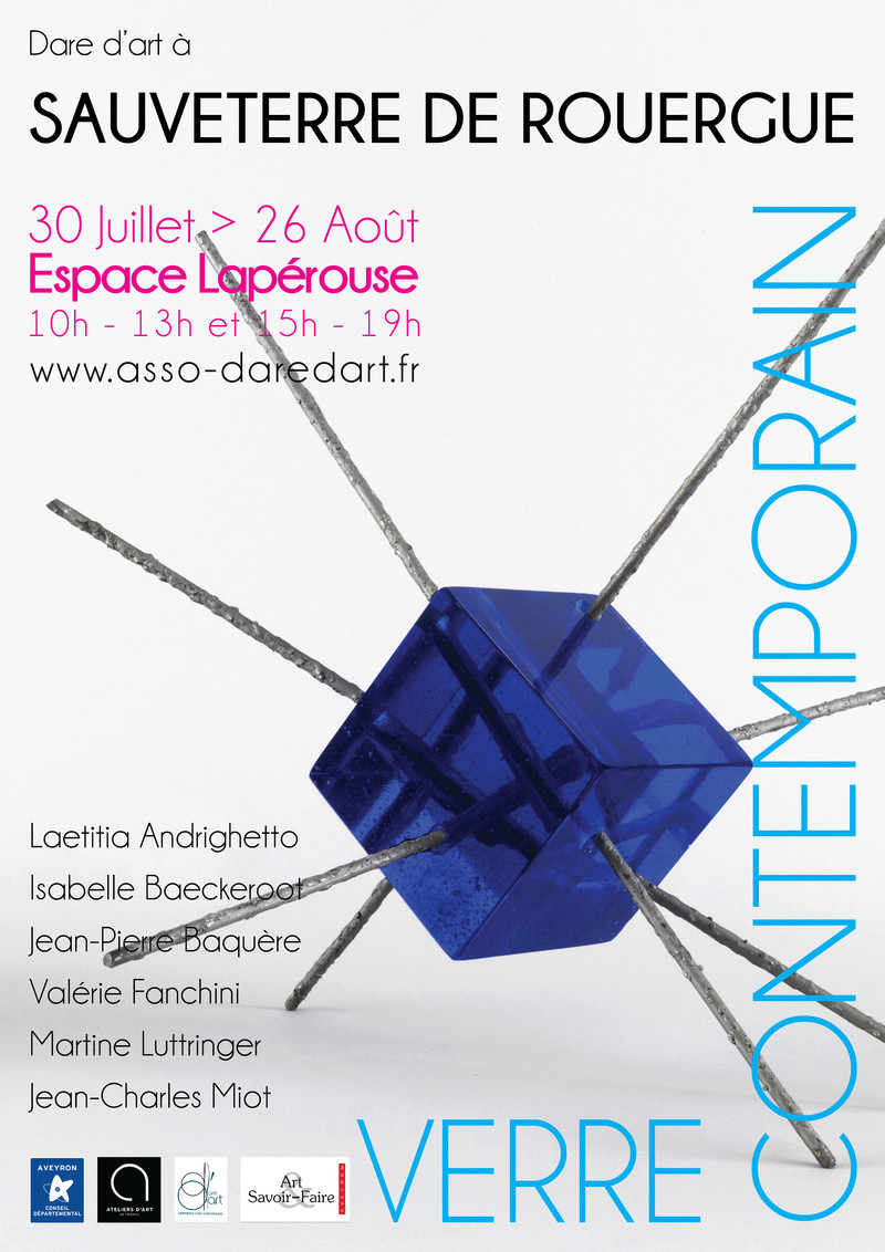 Expos Verre Contemporains  Affich12