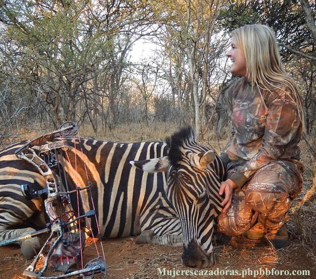 La cazadora norteamericana Kaitlyn Slinkard Kaitls10