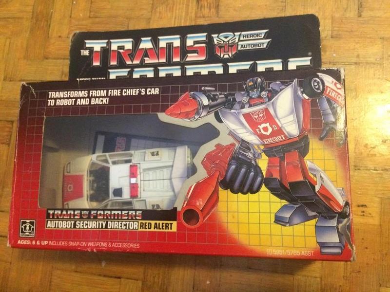 Transformers G1 Red Alert Usa  21640510