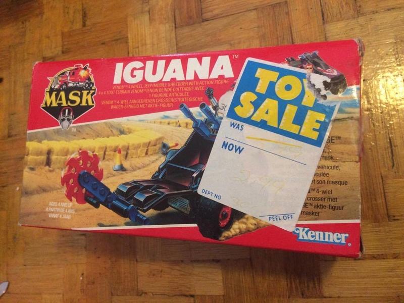 Mask - Iguana Kenner 21754810