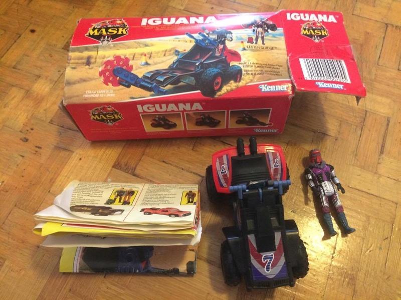 Mask - Iguana Kenner 21767110
